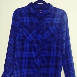 Gap Factory plaid shirt